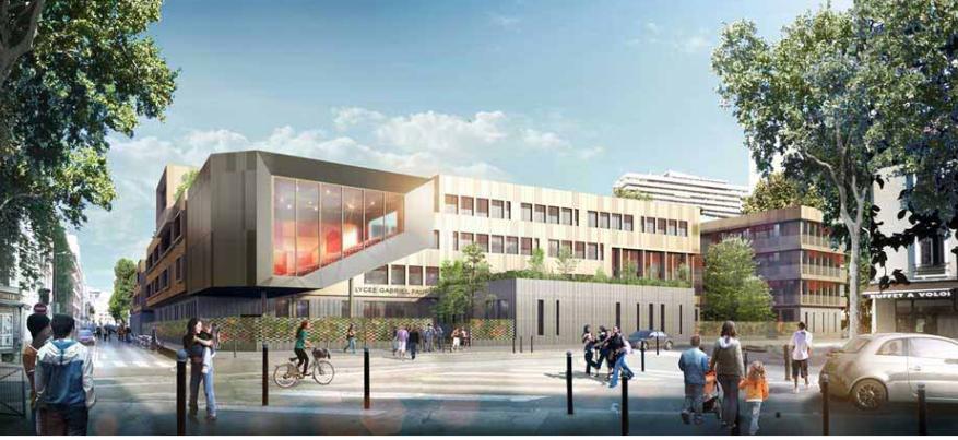 Nouvelle mission OPC – Cité Scolaire Gabriel Fauré – Paris