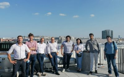 Visite du bâtiment Stories pour l'équipe IXANS